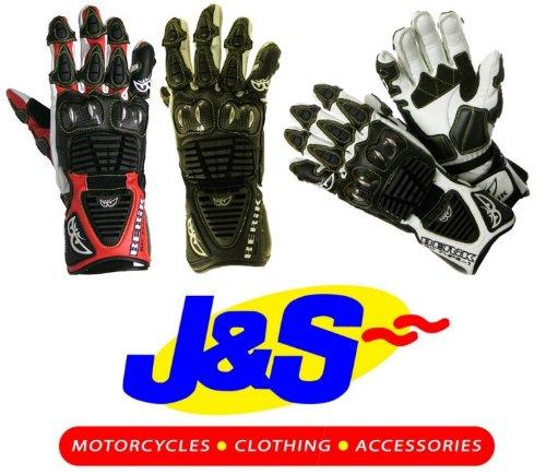 berik g-8087Gants de moto en cuir Racing Moto Gants J & S