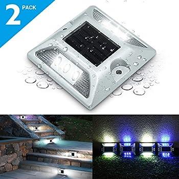 LED Solar Dock Path Road Lights Marker lights