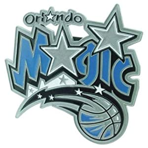 Buy Half Time Orlando Magic NBA Pewter Logo Trailer Hitch Cover HTE4HCL-Orl-DHC909L by Half Time