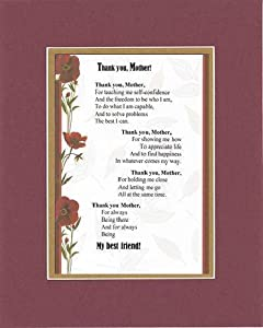 Amazon Com Touching And Heartfelt Poem For Mothers