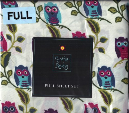 Full Size Owl Bedding 5739 front