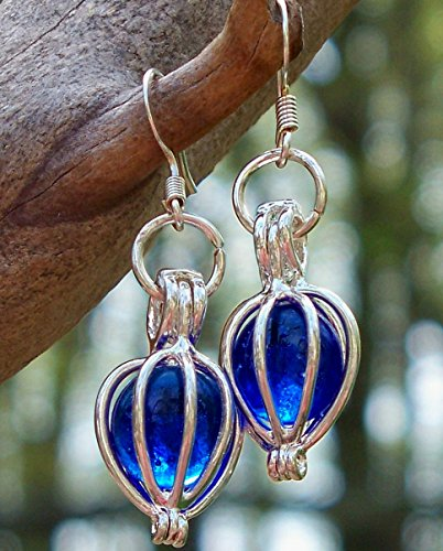 recycled-vintage-noxzema-jar-silver-drop-earrings