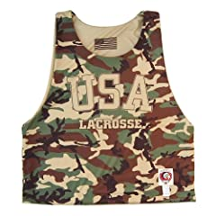 USA Lacrosse Camo Sublimated Lacrosse Pinnie