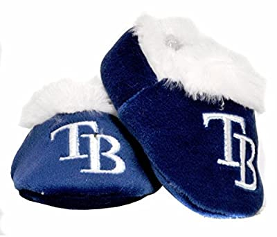 Tampa Bay Rays BABY/Infant MLB Slippers