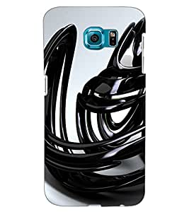 ColourCraft Abstract Image Design Back Case Cover for SAMSUNG GALAXY S6 EDGE G925