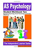 Nick & Bethan Redshaw As Psychology Aqa Specification A - Student Workbook Two
