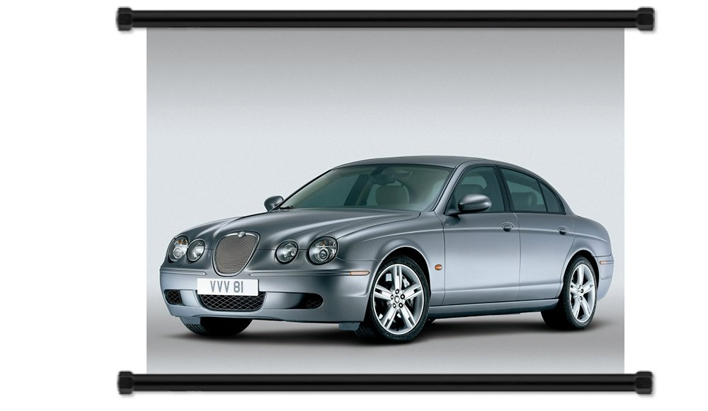 "Кухонный аксессуар Jaguar S Type Fabric Wall Scroll Poster (32"" X 24"") Inches"