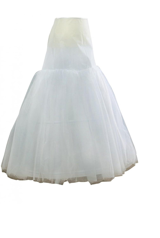 2 Reifen Petticoat hübsche Frau 4 Lagen Tüll für die Zeremonie
