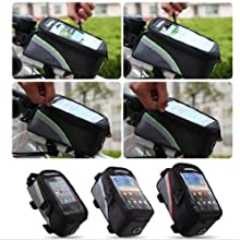 E-Goal Hot Sale 42 Inch Cycling Bike Bicycle Frame Pannier Front Tube Bag Waterproof with Headphone