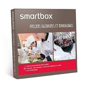 SMARTBOX - Coffret Cadeau - Ateliers culinaires et oenologiques