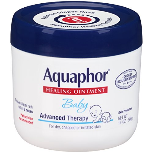 Aquaphor Baby Healing Ointment Diaper Rash and Dry Skin Protectant, 14 Ounce