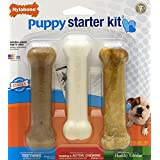 Nylabone Just For Puppies Starter Kit Bone Puppy Dog Chew Toys