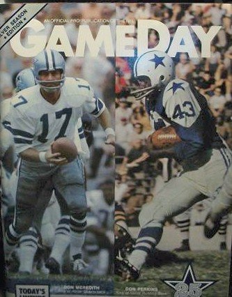 GAMEDAY Dallas Cowboys vs. New Orleans Saints (October 21, Vol. 15 No. 6) at Amazon.com
