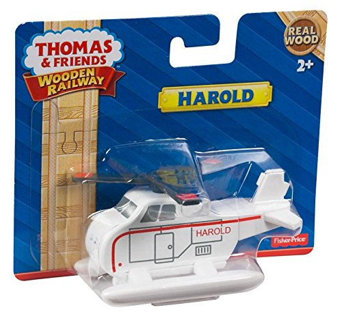 Thomas & Friends Wooden Railway Harold Engine