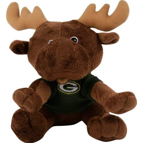 Amazon.com : Green Bay Packers Plush Baby Moose : Toys And Games