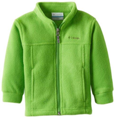 Columbia Baby Boys' Steens MT II Fleece Jacket, Cyber Green, 18/24
