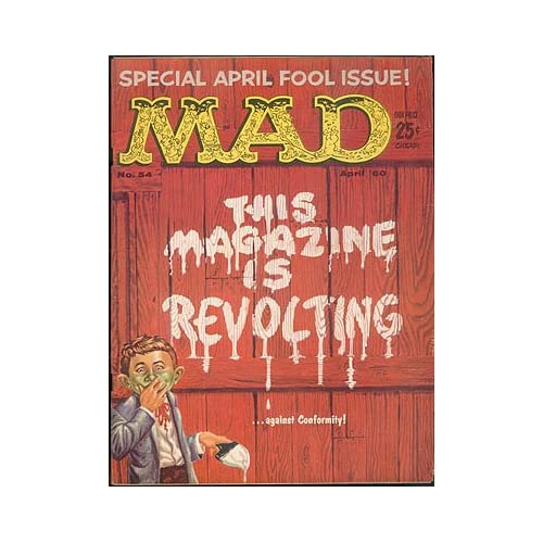 MAD Magazine No. 54, April 1960, Feldstein, Albert B. (editor)