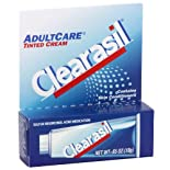 Clearasil Adult Care Sulfur Resorcinol Acne Medication, Tinted, .65 oz.