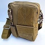 Acid Tactical MOLLE First Aid Bag Pouch Trauma EMT Medic Utility - Tan / Sand color (Color: Tan / Sand)