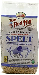 Bob's Red Mill Organic Spelt Berries, 24-Ounce (Pack of 4)
