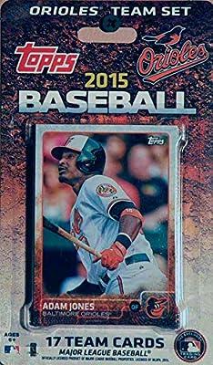 MLB Baltimore Orioles Licensed 2015 Topps® Team Set