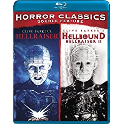 Horror Double Feature (Hellraiser / Hellbound: Hellraiser 2) [Blu-ray]