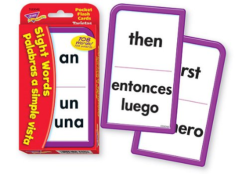 Sight Words/Palabras frecuenetes