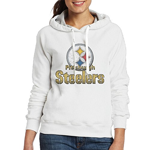 HYD Funny  Pittsburgh Steeler Women's Long Sleeve Sweater M White (Starbucks Coffee Maker Games Free compare prices)