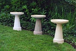 Art Deco Pedestal in Buff by Burley Clay
