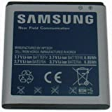 Samsung Original 1850mAh Battery Replacement (OEM) EB-L1D7IVZBSTD For Galaxy Nexus Verizon Only - Non-Retail Packaging - Blue