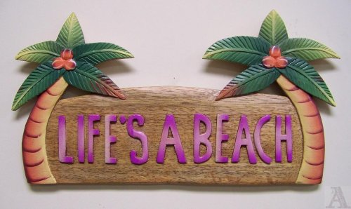 Palm Tree Leaf Decoration Wall Art