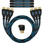 Twisted Veins 0.9m. Cable HDMI de Alt...