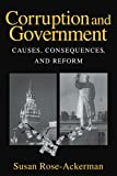img - for Corruption and Government: Causes, Consequences, and Reform by Susan Rose-Ackerman (28-Jun-1999) Paperback book / textbook / text book