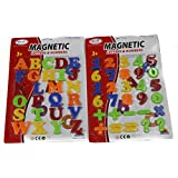 ToyTree Combo Of Magnetic Number, Mathmatic Sign And Capital Letters Best Learning Toy For Kids