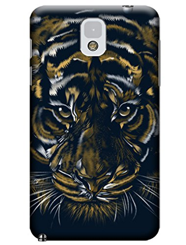 Sangu Tiger Texture Hard Back Shell Case / Cover For Samsung Galaxy Note 3