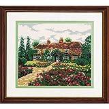 Amazon.co.jp7011 オリムパス ししゅうキット フレーム 思い出の家