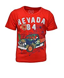 boys pepito t-shirt red 2-3 Y