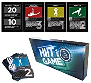 The HIIT Interval Workouts Game by Stack 52. Designed By Military Fitness Expert. High Intensity Interval Training Game Includes Video Instructions. Bodyweight exercises,No Equipment Needed. Fun & Motivating