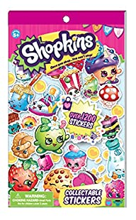 Shopkins Collectible Sticker Book-Ove…
