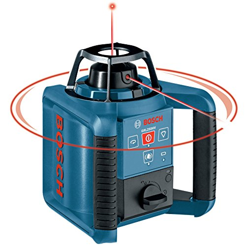 Bosch GRL250HVCK Dual-Axis Self-Leveling Rotary Laser