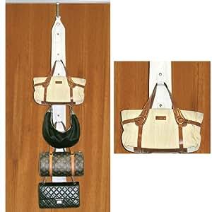 Purse Holder - Includes Door And Closet Rod Hangers!