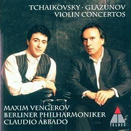 Tchaïkovski - Glazunov : Concertos pour violon