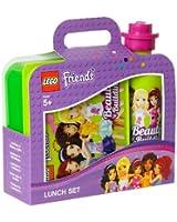 Lego - 40591716 - Kit De Fourniture Scolaire - Kit Repas - Friends - Jaune Vert