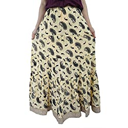 ShopMore Printed Skirt(FS_Sandal)