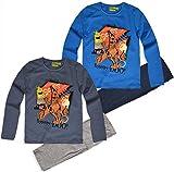 Boys Scooby Doo Pajamas Kids Character Nightwear Pjs Set New