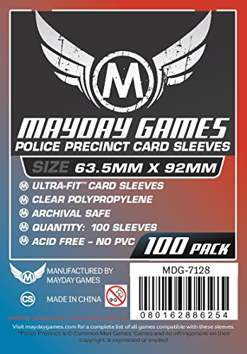Custom Police Precinct Game Sleeves