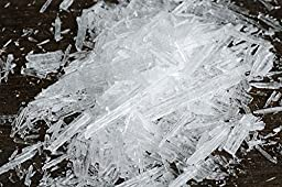Menthol Crystals - 16 Oz. (Packed in 2 - 8 Oz. Jars) - Silver Cloud Estates, LLC