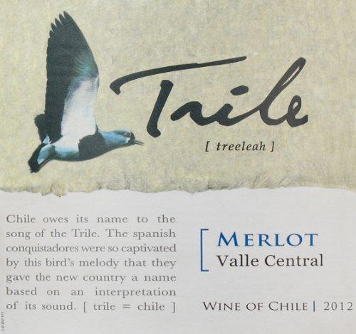 2011 Trile, Merlot, Chile 750 Ml