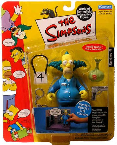 The Simpsons Series 9 Action Figure Busted Krusty