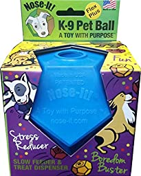 Nose-It K-9 Pet Ball Flex Plus Blue \